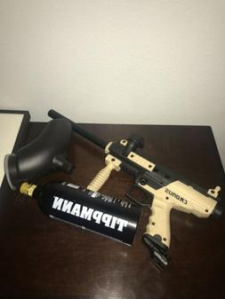 Tippmann Sports Cronus Tan Black Paintball Gun Marker