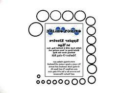 Spyder Electra w/Eye Gun Metal Grey Paintball Marker O-ring