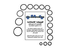Spyder Shutter Paintball Marker O-ring Oring Kit x 4 rebuild