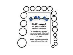 Spyder TL-R Paintball Marker O-ring Oring Kit x 2 rebuilds /