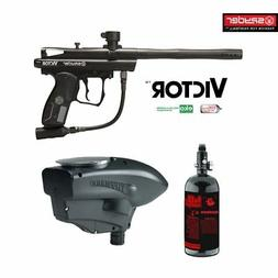 MAddog Spyder Victor Basic HPA Paintball Gun Package - Black