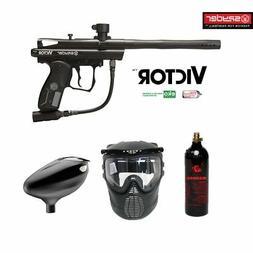 Kingman Spyder Victor Beginner CO2 Paintball Gun Package - B
