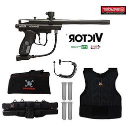 Spyder Victor Sergeant Paintball Gun Package - Black