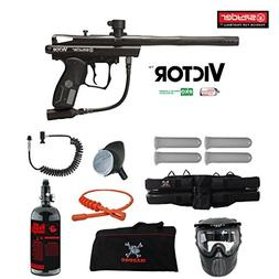 MAddog Spyder Victor Specialist HPA Paintball Gun Package -