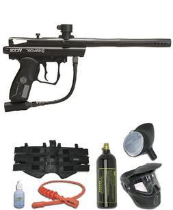 Kingman Spyder Victor Titanium Paintball Gun Package - Diamo