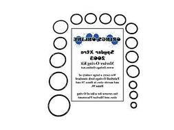 Spyder Xtra 2003 Paintball Marker O-ring Oring Kit x 4 rebui