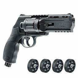 Umarex T4E TR50 Paintball Revolver Pistol .50 Caliber 5 Mags