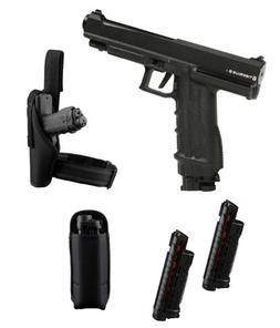 Tiberius Arms T8.1 Paintball Pistol Player's Kit - Black