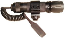 NcStar LED Tactical Flashlight w/ Switch & Mount For Rifles