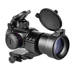 CVLIFE Tactical Gun Sight Red Green Dot Scope Reflex Sight w