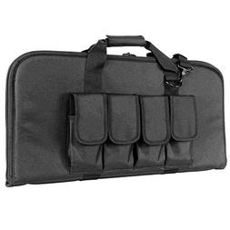 Tactical Soft Case Black for Tippmann A5 paintball marker.