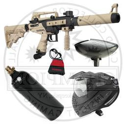 Tippmann Tan Cronus Tactical Paintball Gun - Complete Starte