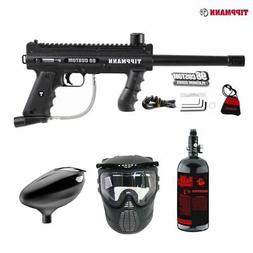 Tippmann 98 Custom Beginner HPA Paintball Gun Package - Blac