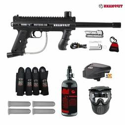 MAddog Tippmann 98 Custom Expert Paintball Gun Package - Bla