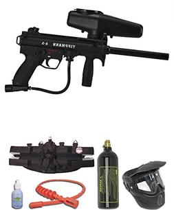 Tippmann A-5 Paintball Gun w/Egrip Complete Gold Package