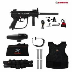 Tippmann A-5 Standard Sergeant Paintball Gun Package - Black