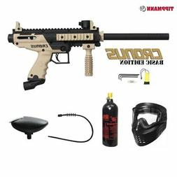 Tippmann Cronus Basic Bronze Paintball Gun Package - Black /