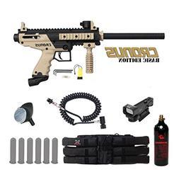 MAddog Tippmann Cronus Basic Red Dot Paintball Gun Package -