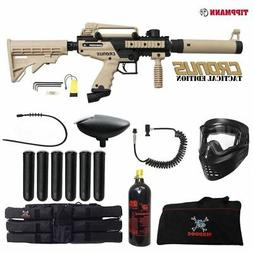 Tippmann Cronus Tactical Corporal Paintball Gun Package - Bl