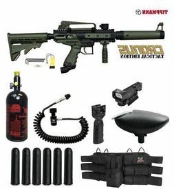 MAddog Tippmann Cronus Tactical HPA Red Dot Paintball Gun Pa