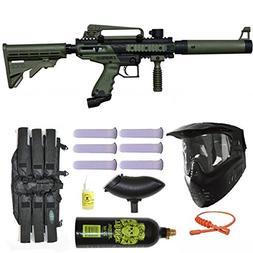 Tippmann Cronus Tactical Paintball Gun 3Skull Mega Set - Oli