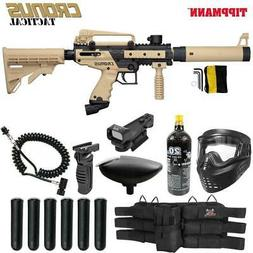 MAddog Tippmann Cronus Tactical Red Dot Paintball Gun Packag