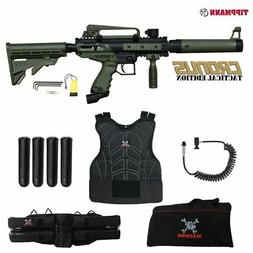 Tippmann Cronus Tactical Sergeant Paintball Gun Package - Bl
