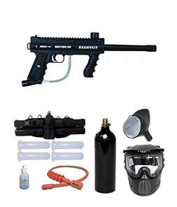 Tippmann Custom 98 Ultra Basic Silver Paintball Gun Package
