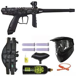 Tippmann Gryphon FX Paintball Marker Gun 3Skull 4+1 Mega Set