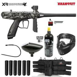 MAddog Tippmann Gryphon FX Titanium Paintball Gun Package -
