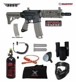 Tippmann TMC MAGFED Private HPA Paintball Gun Package - Blac
