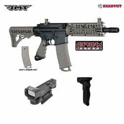 Tippmann TMC MAGFED Paintball Gun Tactical Package - Black/T