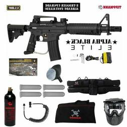 Tippmann U.S. Army Alpha Black Elite Tactical w/ E-Grip Spec
