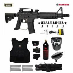 Tippmann U.S. Army Alpha Black Elite Tactical Starter Protec