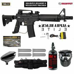 MAddog Tippmann U.S. Army Alpha Black Elite Tactical w/E-Gri