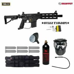 Tippmann U.S. Army Project Salvo Titanium Paintball Gun Pack