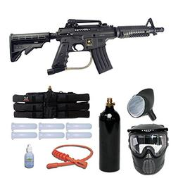 Tippmann US Army Alpha Black Elite Tactical Paintball Gun St