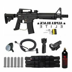 MAddog Tippmann US Army Alpha Black Elite Tactical Red Dot P
