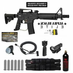 MAddog Tippmann US Army Alpha Black Elite w/E-Grip Tactical
