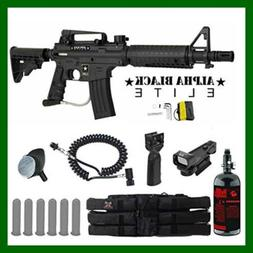 MAddog Tippmann US Army Alpha Black Elite Tactical HPA Red D