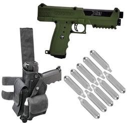 Tippmann TiPX Paintball Pistol w/ Holster and 10 Co2 Cartrid
