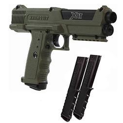 Tippmann TiPX Paintball Pistol Marker Gun - Olive w/ 12rd Ma