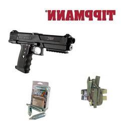 Tippmann TPX TiPX Paintball Pistol + Holster + 12 CO2 Cartri