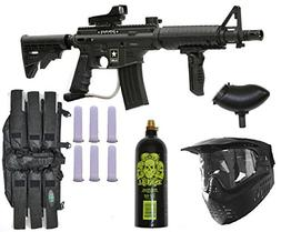 Tippmann US Army Alpha Elite Paintball Marker Gun 3Skull Pac