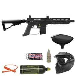 Tippmann US Army Project Salvo Bronze Paintball Gun Package
