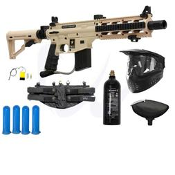 Tippmann US Army Project Salvo Paintball Gun Starter Package