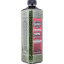 V-Tac BBs Valken Tactical 0.20g BIO Bottle, 5000 Count, Whit