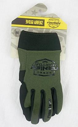 Valken Airsoft Sierra II Gloves, Large, Olive