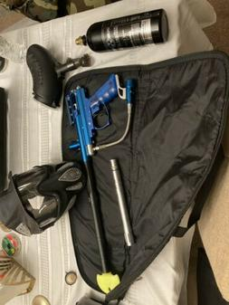 Spyder victor 2 paintball gun, Package Deal, blue, great con