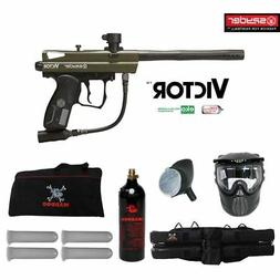 Spyder Victor Maddog Beginner CO2 Paintball Gun Marker Packa